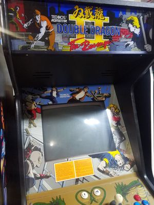 Double dragon 2 and 3 arcade for Sale in Parkland, WA