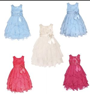 b8dc71b6c21 WHOLESALE StylesILove Sparkling Flower Lace Cascade Girl Dress for Sale in  El Monte