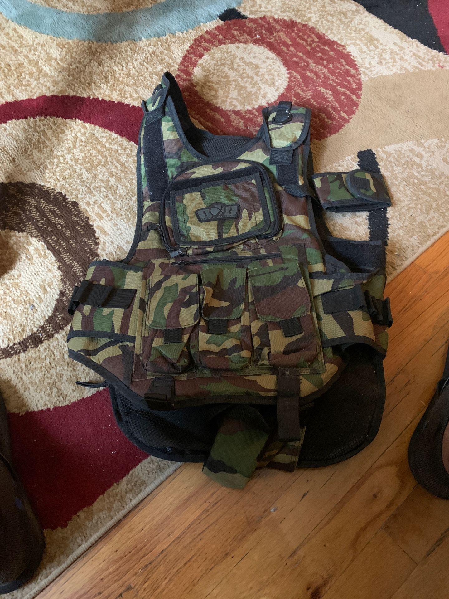 Paint balling vest