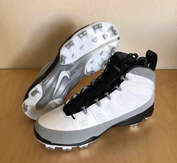 NEW Nike Air Jordan Retro IX 9 Molded Baseball Cleats Size 10 Jeter ... ff1295ed6