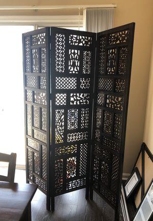 Wood ornate divider for Sale in Herndon, VA