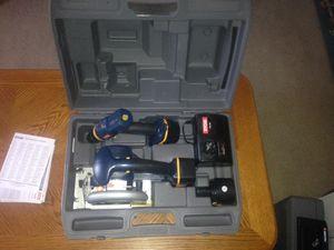 Photo Ryobi 14.4 volt Drill and Radial saw combo unit