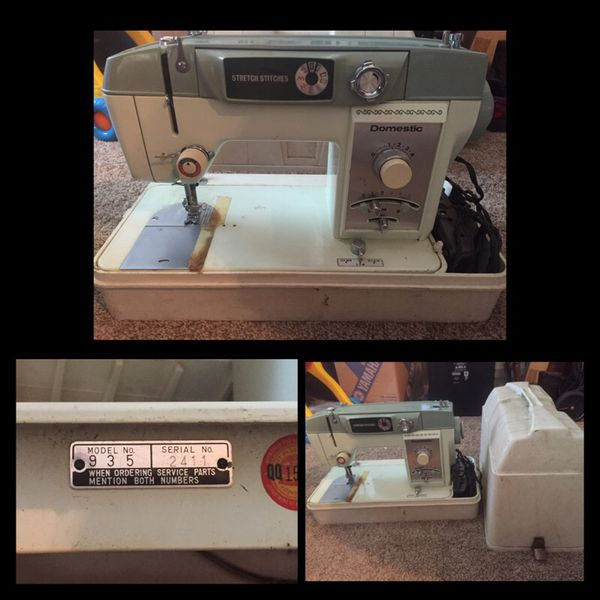 Domestic Sewing Machine Model 935 For Sale In Fort Worth Tx Offerup