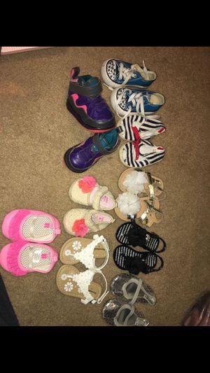 Baby girls shoes bundle for Sale in Fort Belvoir, VA