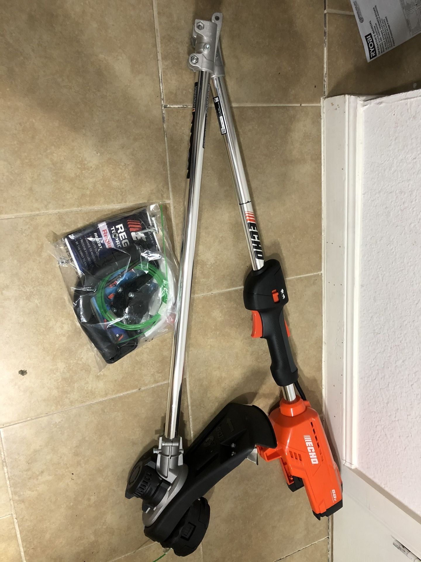 58v Echo String Trimmer ( Tool Only)