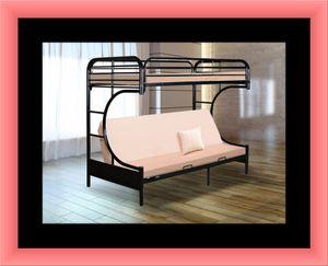 Twin futon bunkbed frame for Sale in Upper Marlboro, MD