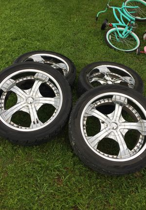 Photo Tires/rim 22 inch 5 lug