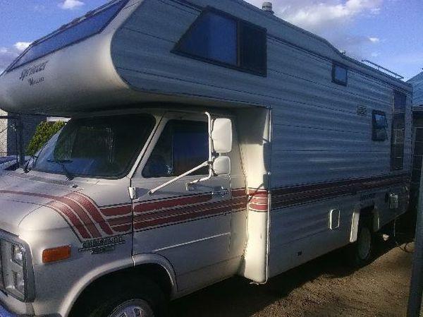 86 chevy R V  (29ft mallard sprinter) for Sale in Albuquerque, NM - OfferUp