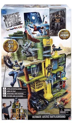 DC Justice League Ultimate Battleground Set With Exclusive Batman Figure *NEW* for Sale in Oakland Park, FL
