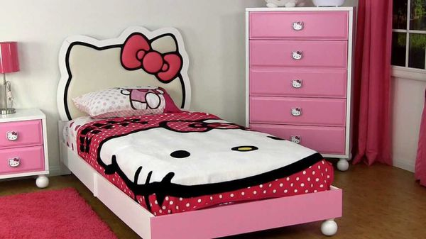 Hello Kitty Bed Twin Frame And Mattress For Sale In Mulberry FL