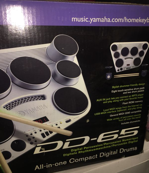 Yamaha electronic drum set (In original box) for Sale in Santa Monica, CA -  OfferUp