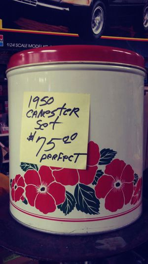 1950's Antique Canister Set for Sale in Salt Lake City, UT