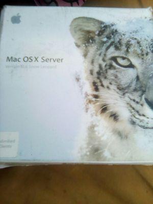 Apple Mac OS 10 Server w/ Unlimited clients license.. for Sale in Phoenix, AZ