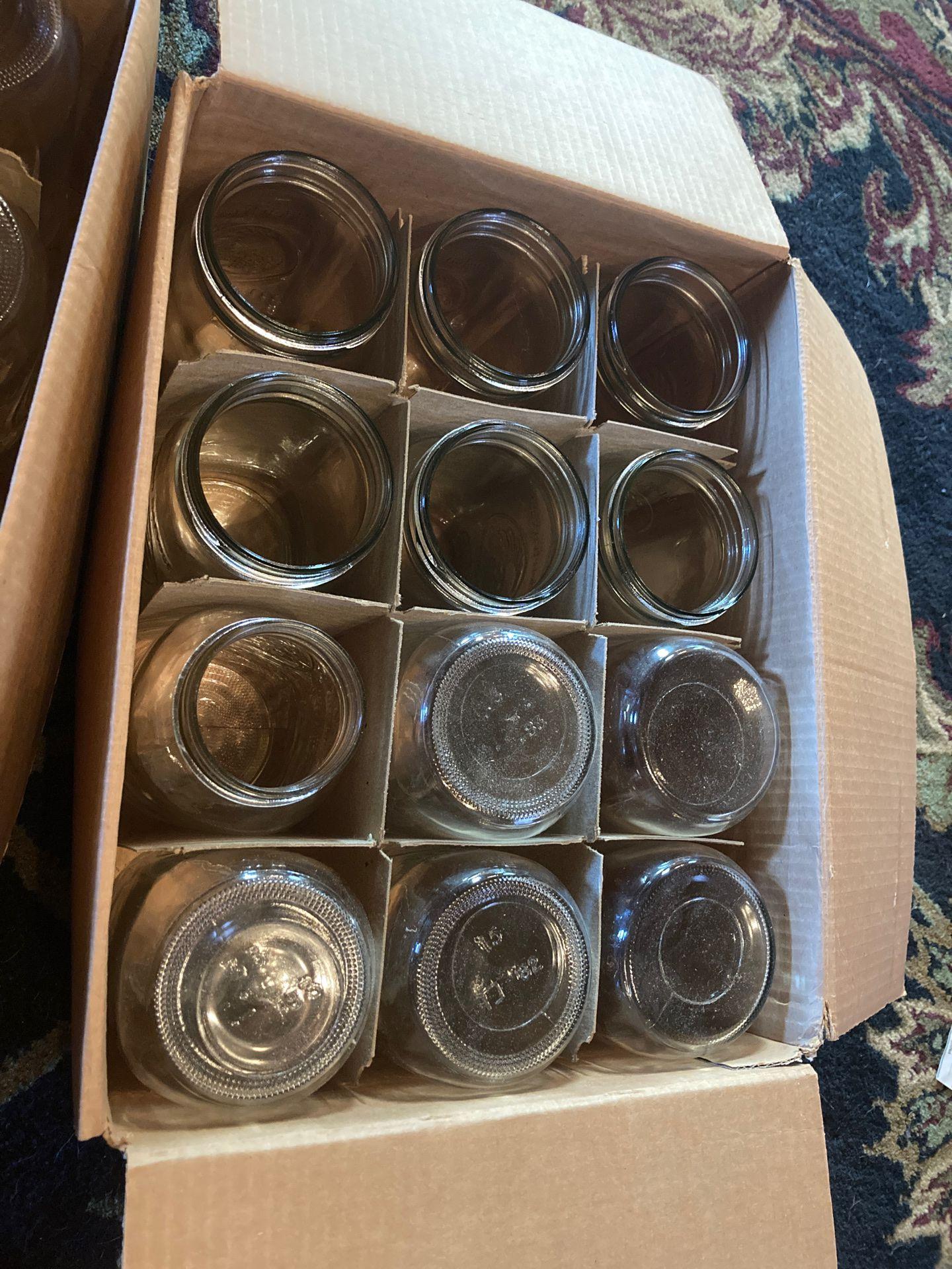 Mason canning jars