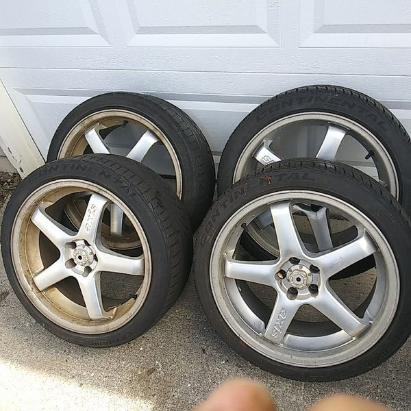 "Axis 18"" Aluminum Rims With Tires 5x100 For Sale In Kent"