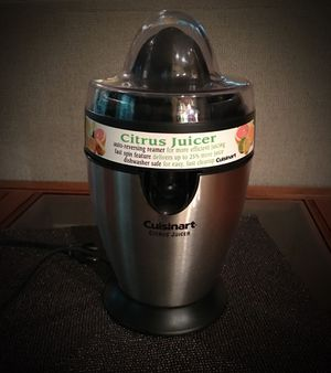 Cuisinart Citrus Juicer for sale  Bella Vista, AR