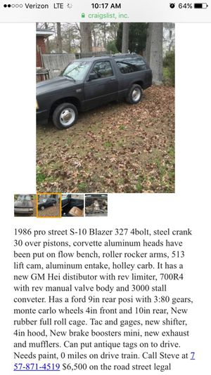 New And Used Chevy Blazer For Sale In Hampton Va Offerup