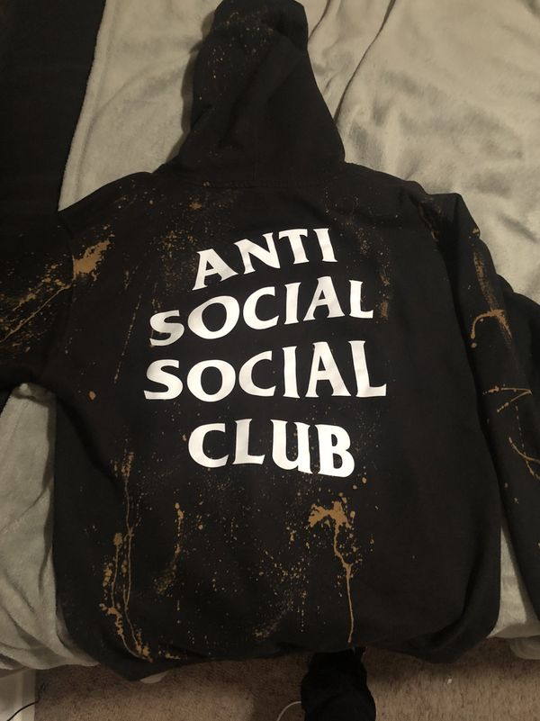 the latest a43a7 a931c Authentic Anti social social club hoodie