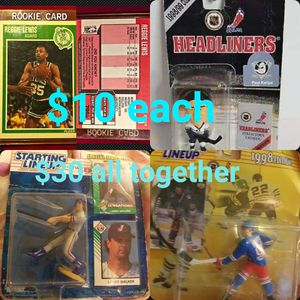 Collectable Sport Action Figures & Cards for Sale in Lubbock, TX