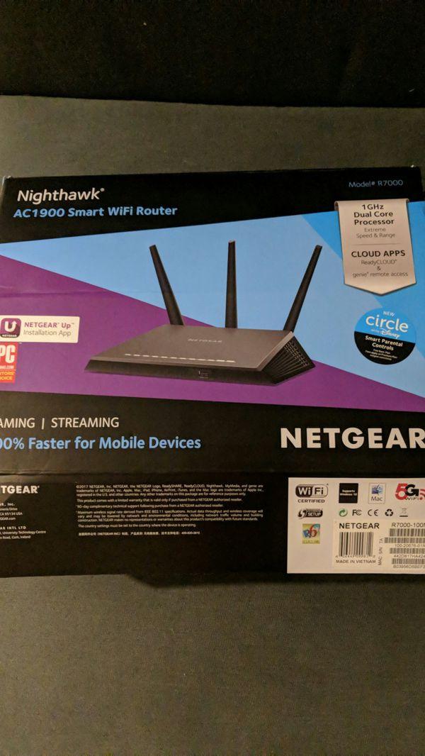 Netgear Nighthawk AC1900 Smart Wifi Router for Sale in San Francisco, CA -  OfferUp