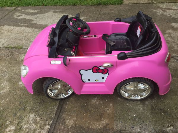 hello kitty kids electric car for sale in san francisco ca offerup