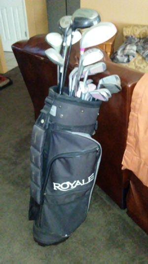 Golf clubs w/ bag! for Sale in Fresno, CA