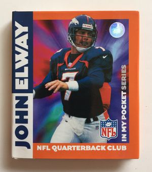 Photo John Elway Denver Broncos In My Pocket Series 50 page Book