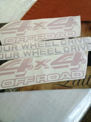 Sticker for land cruiser or lx450 91to97 for Sale in Arlington, VA