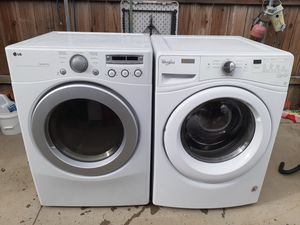 Photo Whirlpool washer and LG gas dryer both works great in good condition
