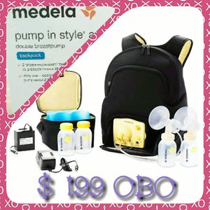 NIB- MEDELA ADVANCED DOUBLE ELECTRIC BREAST PUMP W/ BACKPACK SET- COMPLETE IN UNOPENED BOX. ASKING JUST $199 OBO for Sale in Portland, OR