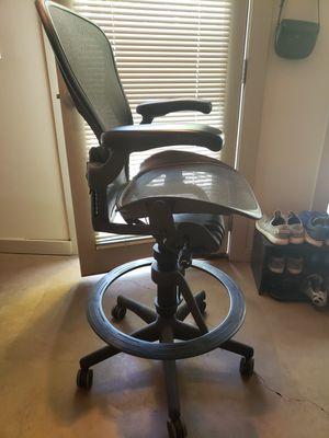Herman Miller Tall Desk Office chair for Sale in Salt Lake City, UT