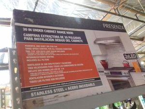 Presenza 30 inch under cabinet range hood for Sale in Phoenix, AZ