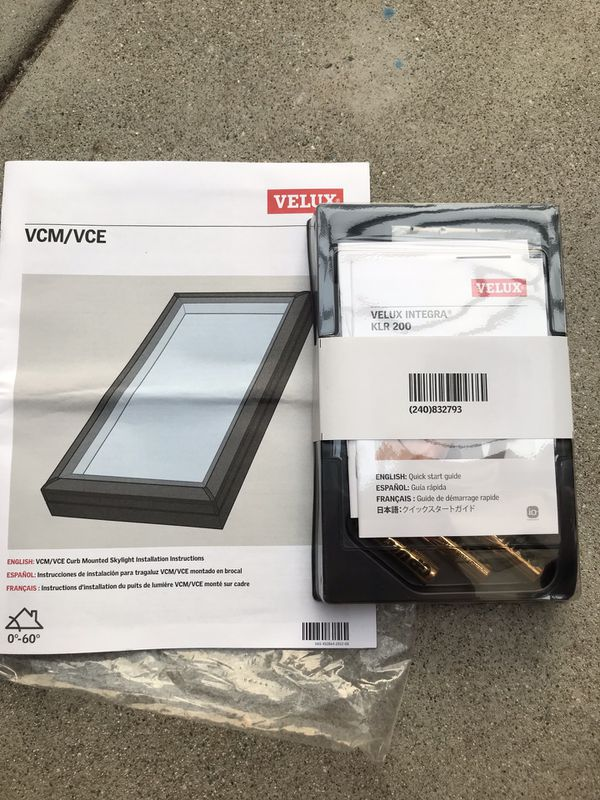Velux Integra KLR 200 Control Pad-BRAND NEW for Sale in ...