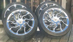 "17"" Chrome Rims (4 holes) for Sale in Manassas, VA"