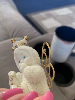 """Dept 56 Snow-babies """"Do What You Love"""" Crown and Wings 2002 retired Thumbnail"""