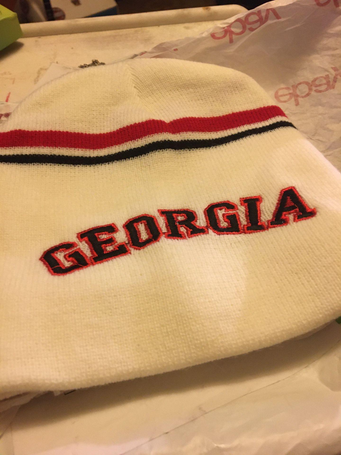 Georgia bulldog stocking hats