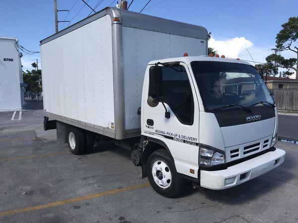 Isuzu npr 2006 turbo diesel box truck / trade welcome for Sale in Miami, FL  - OfferUp