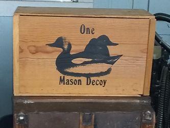 Mason decoy Thumbnail