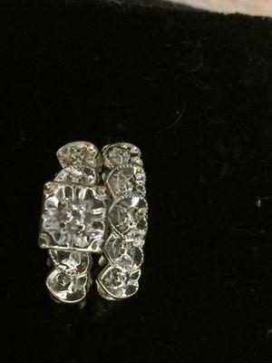 Vintage White Gold Wedding Ring Set for Sale in Portland, OR