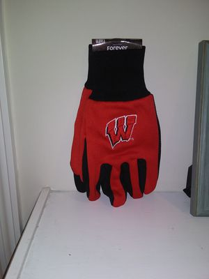 Wisconsin College Utility gloves for Sale in North Charleston, SC