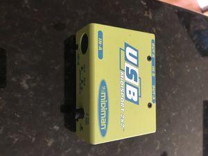 M-audio midiman usb 2x2 usb midi interface adapter for Sale in Washington, DC