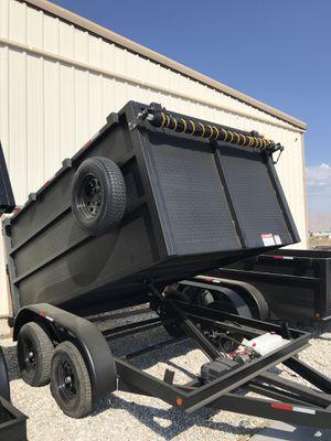 8x10x4ta dump trailer for Sale in Las Vegas, NV