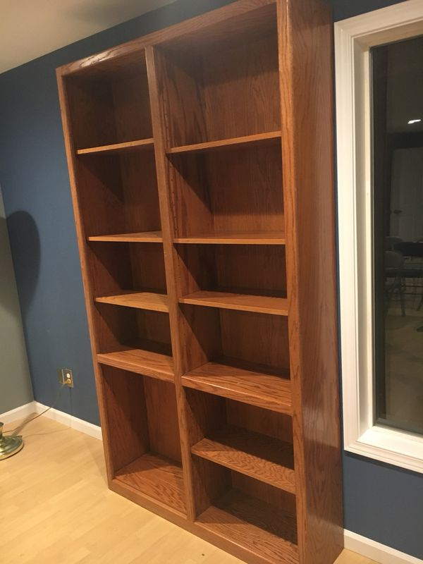 Bookcase Adjustable Shelf 8 Feet Tall For Sale In