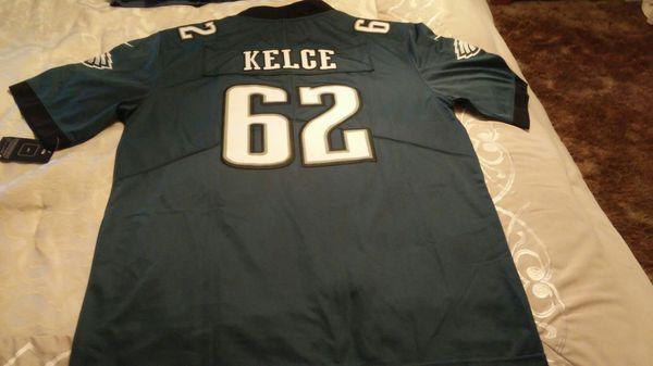 377f1825f68 Jason Kelce Eagles super bowl jersey for Sale in Eddington, PA - OfferUp
