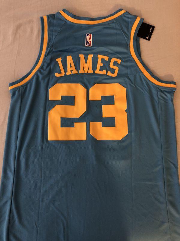 50d6e90ce Lebron James MPLS Laker Jersey Brand New Size Men s Medium for ...