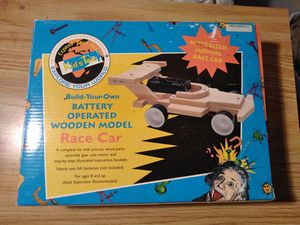 Battery operated Wooden race car for Sale in Reston, VA