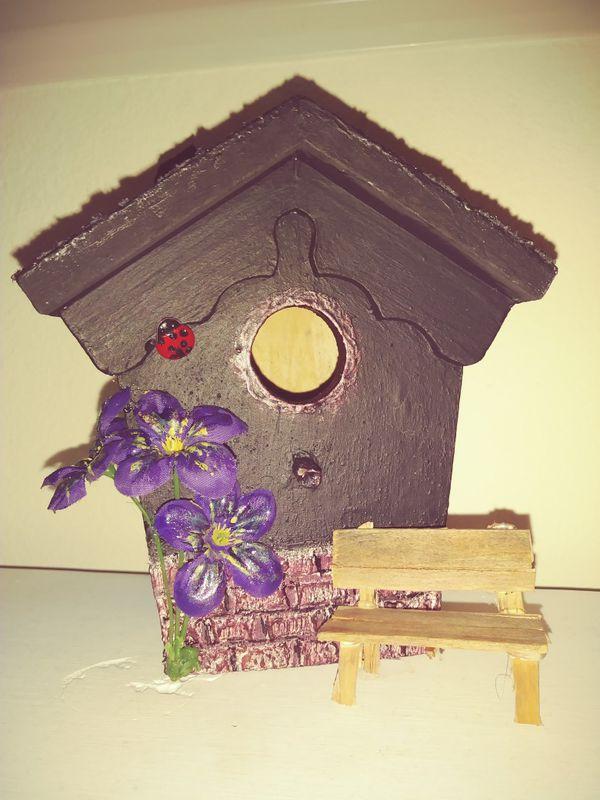 Decorative birdhouse home garden in spring hill fl offerup mightylinksfo