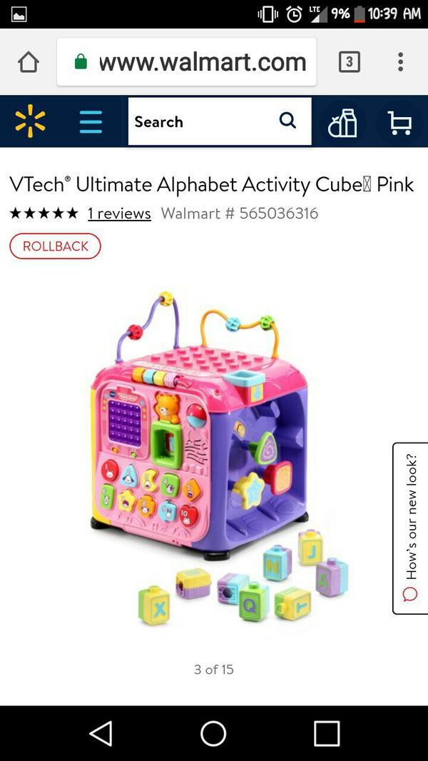 Vtech Alphabet Ultimate Activity Cube For Sale In San Jose Ca Offerup