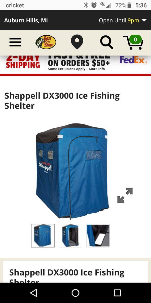 Ice fishing bundle for Sale in Ypsilanti, MI - OfferUp