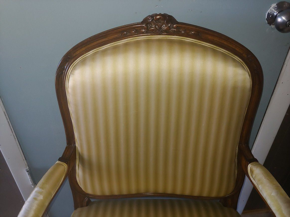 Apair French chair